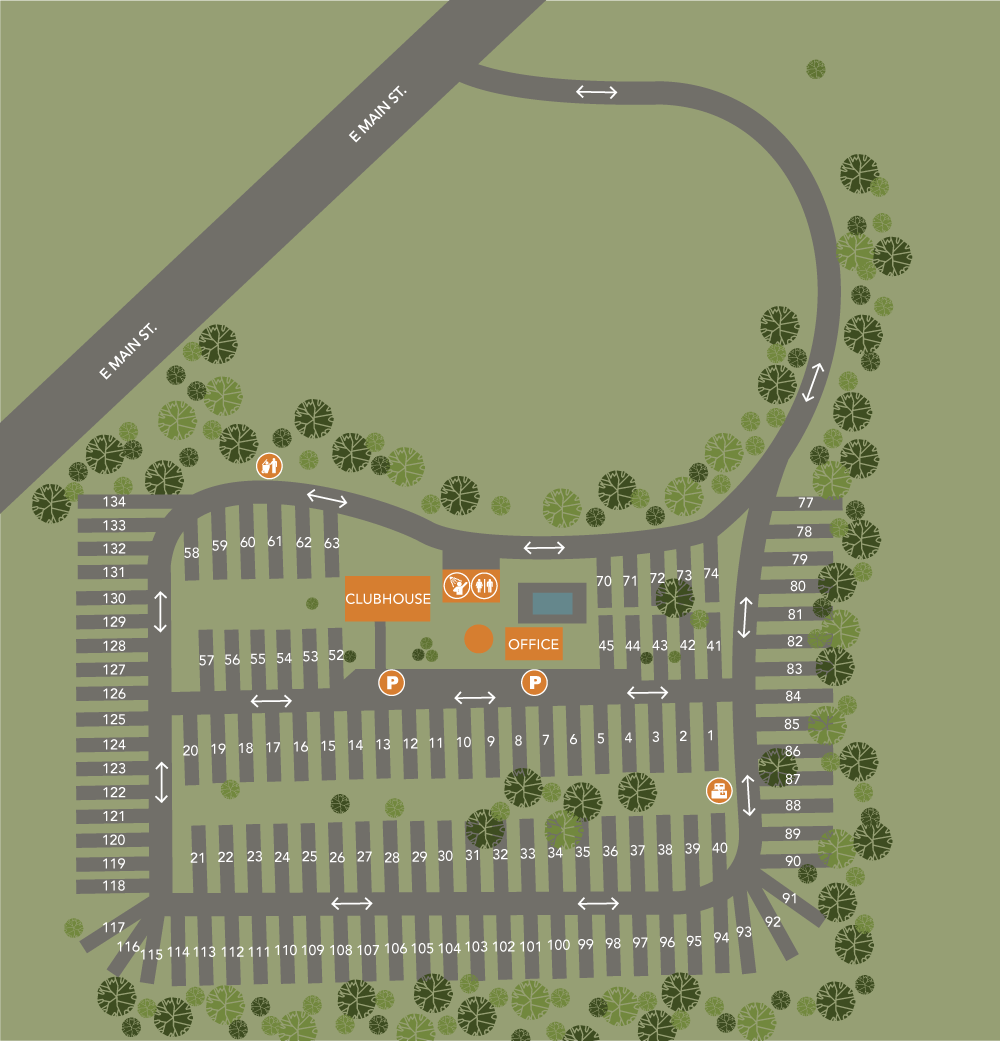 Travel Inn Resort Property Map
