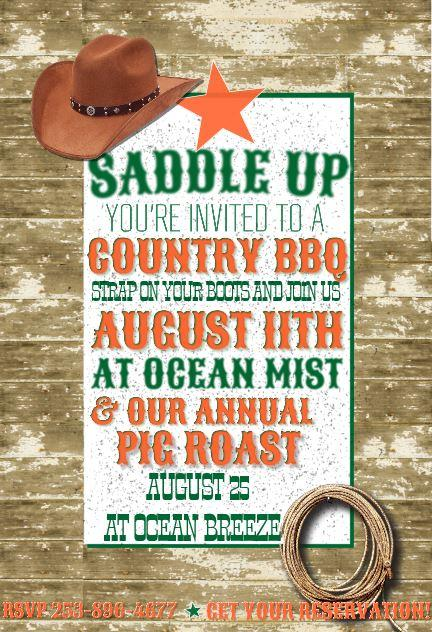 Country BBQ at Ocean Mist